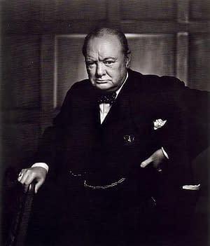 Yousuf Karsh Winston Churchill