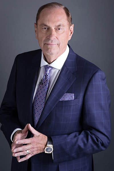 Headshot photography of Jim Treliving
