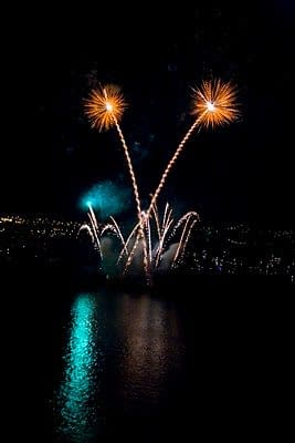 Vancouver BC Fireworks