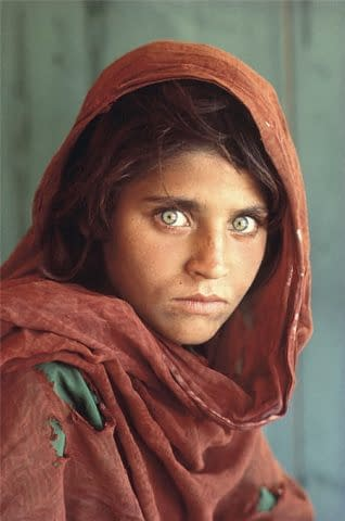 Sharbat Gula for National Geographic by Steve McCurry